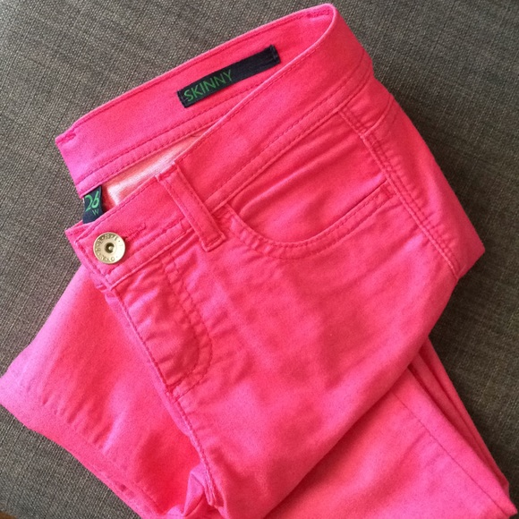 United Colors Of Benetton Denim - Skinny pink jeans - perfect for spring/summer